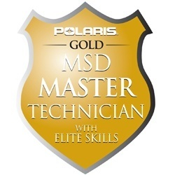 Polaris Gold Master Service Technician